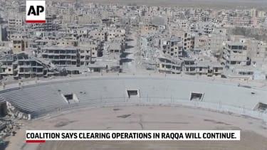 Raqqa, Syria, on Oct. 19, 2017
