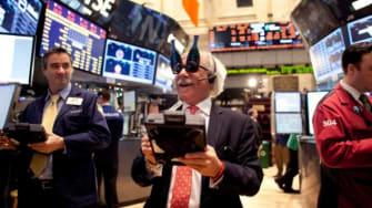 The New York Stock Exchange on Dec. 31.