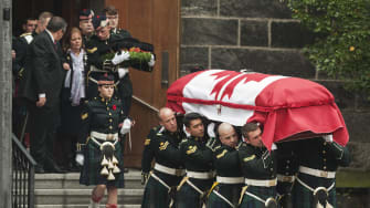 Canadian public donates to families of soldiers killed in last week's terrorist attacks