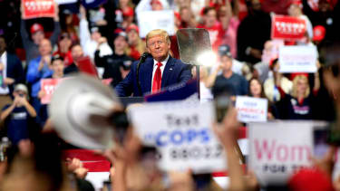 The end of Trump's reelection rallies?