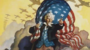 America to the rescue.