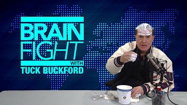 Stephen Colbert takes on Alex Jones taking on Chobani yogurt