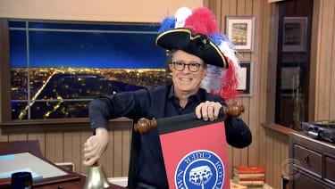 Stephen Colbert reads a royal statement