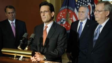 House Majority Leader Eric Cantor (R-Va.) is one of two Republican negotiators being sent to White House deficit talks, and some commentators worry that the negotiations are effectively spoil