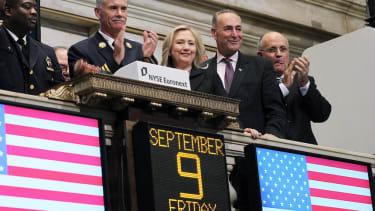 Wall Street would 'love' Hillary Clinton vs. Jeb Bush in 2016