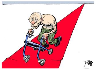 Political Cartoon World Putin elections
