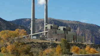 A coal plant in Utah