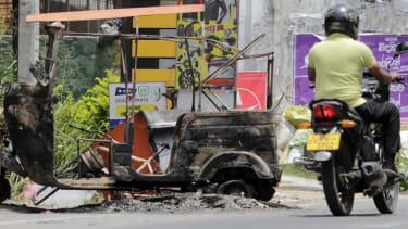 Sri Lanka violence.