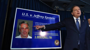 Federal prosecutors unveil charges against Jeffrey Epstein