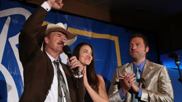 Rob Quist delivers his concession speech in Montana.