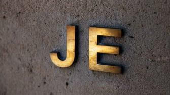 Jeffrey Epstein initials.