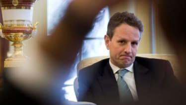With the economy still a main concern, Treasury Secretary Tim Geithner could be on the chopping block if Obama chooses to switch up his staff.