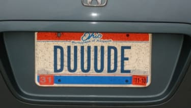 Some 9.3 million cars are rocking personalized license plates, including this classic Ohio plate.