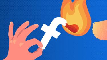 The Facebook logo as a match.