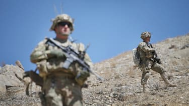 There could soon be fewer than 10,000 U.S. troops in Afghanistan