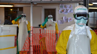 There are only a few known Ebola cases left in the world, and all of them are in Guinea