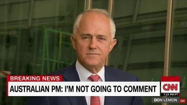 Australian Prime Minister Malcolm Turnbull pushed back at Donald Trump, Australian media reports