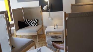 An Ikea pop-up store