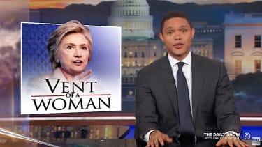 Trevor Noah talks about Hillary Clinton's loss