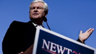 Heading into critical GOP presidential primaries in Alabama and Mississippi, Rick Santorum and Newt Gingrich are running neck and neck with Mitt Romney.