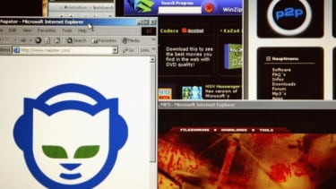 In its first iteration Napster was a peer-to-peer sharing site that ran into copyright problems and ceased operation.