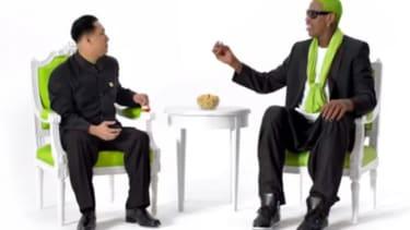 Dennis Rodman's pistachio ad