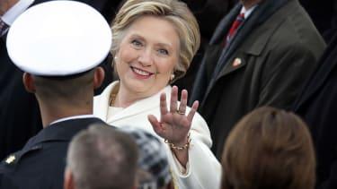 Hilalry Clinton.