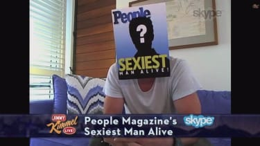 People's 'Sexiest Man Alive' is teased, revealed by Jimmy Kimmel