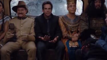 Watch the zany trailer for Night at the Museum 3