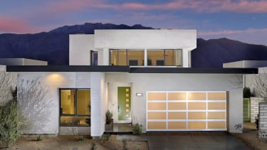 A house in Palm Springs, California.