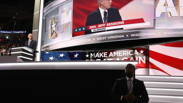 Jeff Sessions speaks at the RNC in Cleveland