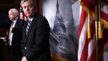 Some conservatives are calling for Sen. Lindsey Graham's (R-S.C.) head.