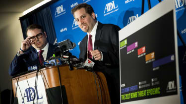 The ADL has confronted a rise in bomb threats.