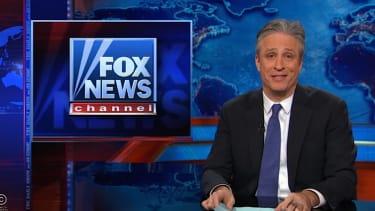 "Jon Stewart congratulates Fox for making Selma about ""conservative victimization"""