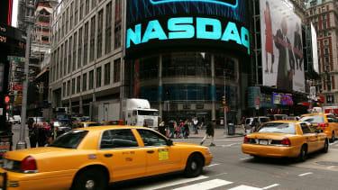 The NASDAQ sign