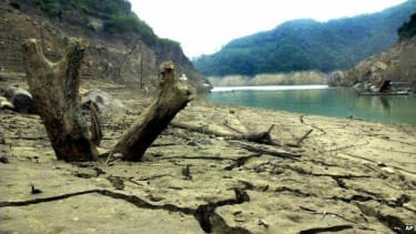 Taiwan is experiencing its worst drought in 68 years.