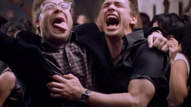 North Korea threatens 'strong and merciless countermeasure' against Franco-Rogen film The Interview