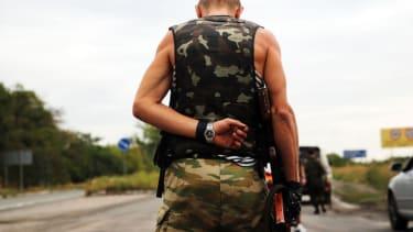 Pro-Russian separatist takes office in eastern Ukraine