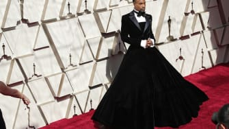 Billy Porter is dropping jaws.