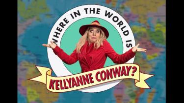 Kate McKinnon as Kellyanne Conway on SNL
