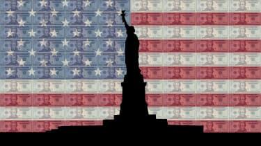 Democracy vs. money.