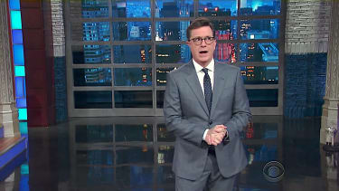 Stephen Colbert has a theory about Hillary Clinton loss