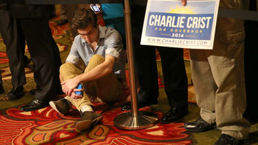 The saddest photos of election night's losers