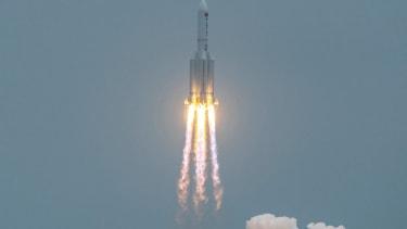 China's Long March 5B rocket.