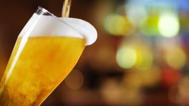 Pint of beer.