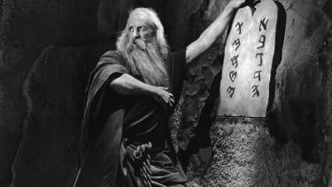 Archaeologists unearth Ten Commandments set in California desert