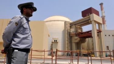 The Bushehr nuclear power plant was reportedly hit by the Stuxnet computer worm. The reactor building of the plant is pictured above.