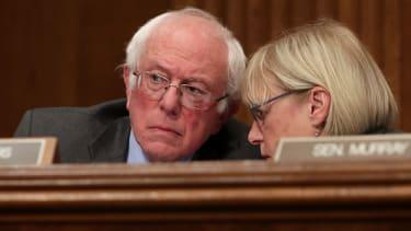 Sen. Bernie Sanders and Sen. Patty Murray.