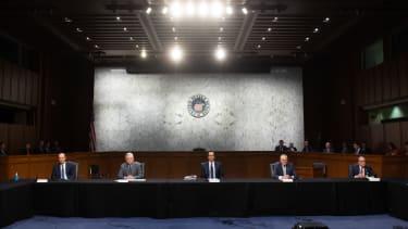 Mitch McConnell, Steven Mnuchin, Chuck Schumer