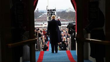 The populist president.